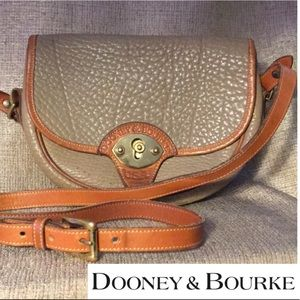 Dooney & Bourke Leather Handbag with Strap